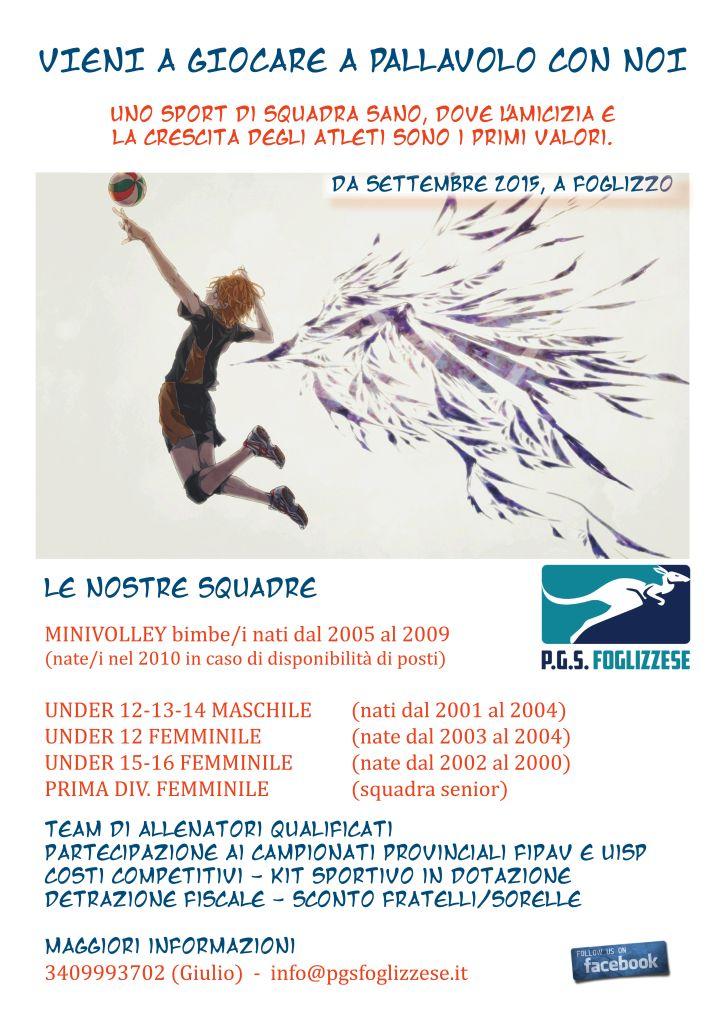 VOLANTINO STAGIONE 15-16 two