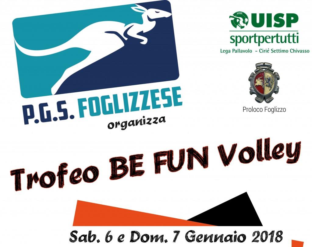 Banner Trofeo BE FUN Volley 2018